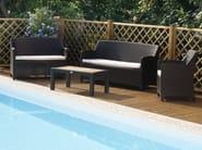 2 seater garden sofa ALASSIO | 2 seater sofa - Mediterraneo by GPB