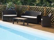 3 seater garden sofa ALASSIO | 3 seater sofa - Mediterraneo by GPB