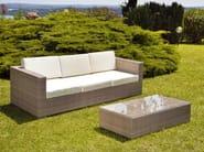 Rectangular garden side table RODI | Garden side table - Mediterraneo by GPB