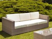 3 seater garden sofa RODI | 3 seater sofa - Mediterraneo by GPB