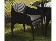 Garden chair with armrests NUVOLA | Chair with armrests - Mediterraneo by GPB