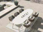 Garden table TOSCA | Dining table - TRIBÙ