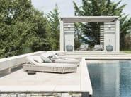 Recliner garden daybed TOSCA | Garden daybed - TRIBÙ