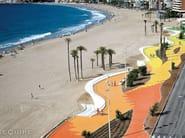 Sfera, Circular floor tile. Beach Promenade Benidorm