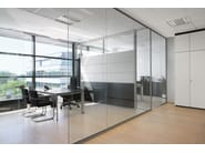 Glass office partition RG Glass wall - BENE