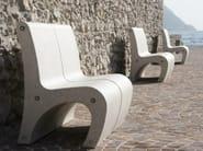Modular Bench with back GEA - Bellitalia