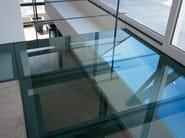 Anti-slip glass flooring LITE-FLOOR - Glassolutions