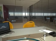 Decorated laminated glass TEX GLASS® - Glassolutions