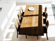 Extending oak table DK3_3 TABLE   Oak table - dk3