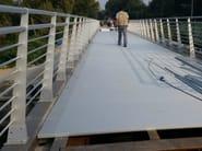 Aluminium Road railing ORIZZONTE URBANO - ALUSCALAE