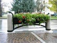 Galvanized steel Flower pot COSMOARREDO - Bellitalia