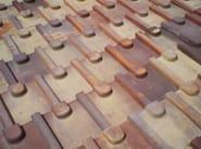 Alpine quarry roof tile TEGOLA ALPINA - FORNACE FONTI