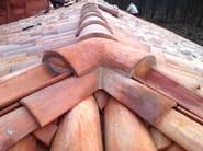 3 ways quarry ridge tile TREVIE PER COPPESSA - FORNACE FONTI