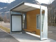 Porch for bus stop BOLZANO - Bellitalia