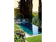 Infinity In-Ground stone swimming pool Stone swimming pool - INDALO PISCINE
