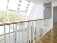 Steel balustrade LAN - Fontanot Spa