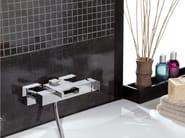 Wall-mounted single handle bathtub mixer FLASH | Bathtub mixer - Remer Rubinetterie