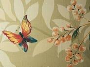 Red-paste wall tiles with textile effect FLORILÈGE - NOVOCERAM