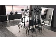 Rectangular lacquered glass table ANTARES | Lacquered table - CorteZari