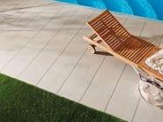 Porcelain stoneware outdoor floor tiles with stone effect PATIO - NOVOCERAM