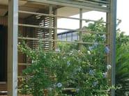 Wooden vertical gardening trellis SPAZIO | Vertical gardening trellis - Legnolandia