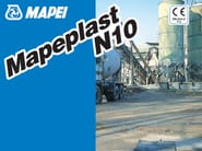 Additive for cement and concrete MAPEPLAST N10 - MAPEI
