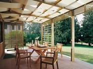 Freestanding wooden pergola SPAZIO | Freestanding pergola - Legnolandia