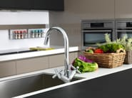 Countertop 1 hole kitchen tap with aerator FUTURE | Countertop kitchen tap - NOKEN DESIGN