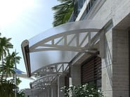 Canopy for gates for Doors for Stairs FLEX - TENDA SERVICE