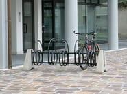 Galvanized steel Bicycle rack FURBO - Bellitalia