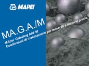 Additive for cement and concrete MA.G.A./M - MAPEI