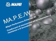 Additive for cement and concrete MA.P.E./W - MAPEI