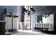 Leather armchair with armrests GAUDÌ | Armchair - CorteZari