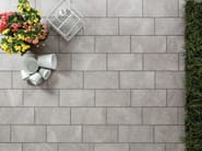 Porcelain stoneware outdoor floor tiles with stone effect JULIA - Ceramica Rondine