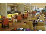 Upholstered restaurant chair ANNA | Chair - Andreu World