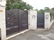 Swing gate PAN.32 | Gate - CITYSì recinzioni e cancelli taglio laser