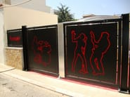 Plate Fence PAN.18 | Fence - CITYSì recinzioni e cancelli taglio laser