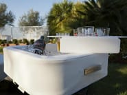 Imitation leather floating tray TRONA   Floating tray - Trona