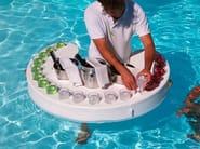 Eco-leather floating Bar TRONA | Floating bar - Trona