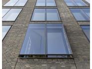Hybrid window with double skin technology WICLINE 215 - WICONA