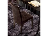 Upholstered leather chair SWING - CorteZari