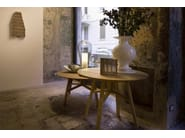 Round oak table BENEDETTO | Table - Produzione Privata