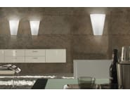 Contemporary style indirect light glass wall lamp CLEO AP - Vetreria Vistosi