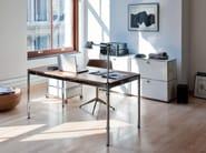 Modular metal office shelving USM HALLER STORAGE FOR HOME OFFICE | Office shelving - USM Modular Furniture