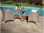 Indoor/outdoor porcelain stoneware flooring with wood effect HARD & SOFT - Ceramica Rondine