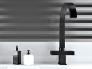 Countertop 1 hole washbasin mixer TWIN DEKORA SENSE | Washbasin mixer - Daniel Rubinetterie
