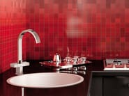 Countertop 1 hole kitchen mixer tap with swivel spout TWIN | Kitchen mixer tap - Daniel Rubinetterie