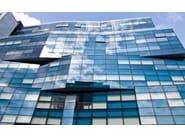 Structural glass facade WICTEC EL60 - WICONA