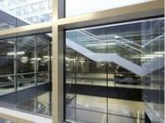 Structural glass facade WICTEC 50FP / WICTEC 60FP - WICONA