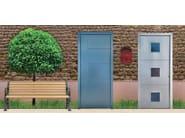 Exterior entry door PORTONCINI PANTOGRAFATI | Exterior entry door - F.lli Pavanello
